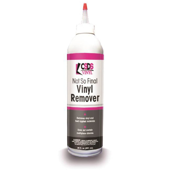 Not So Final Vinyl Remover 6 oz