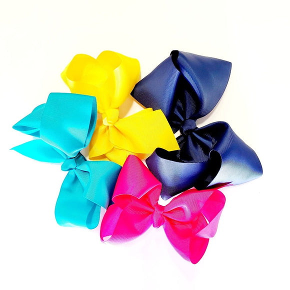 Boutique Bows with Alligator Clip - Large 7