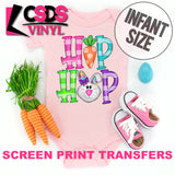 Screen Print Transfer - Hip Hop Girl Bunny INFANT - Full Color