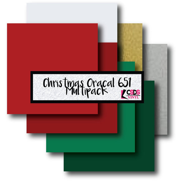 Oracal 651 Christmas Multipack
