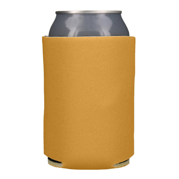 Blank Collapsible Beverage Coolers- Gold