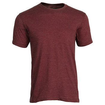Tultex Unisex Jersey Tee-Heather Burgundy