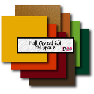Oracal 651 Fall Multipack