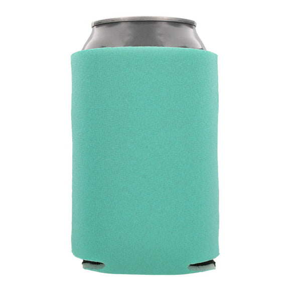 Blank Collapsible Beverage Coolers- Robbins Egg Blue