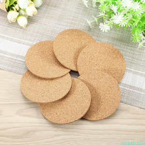 Blank Cork Coaster Set - 4pc