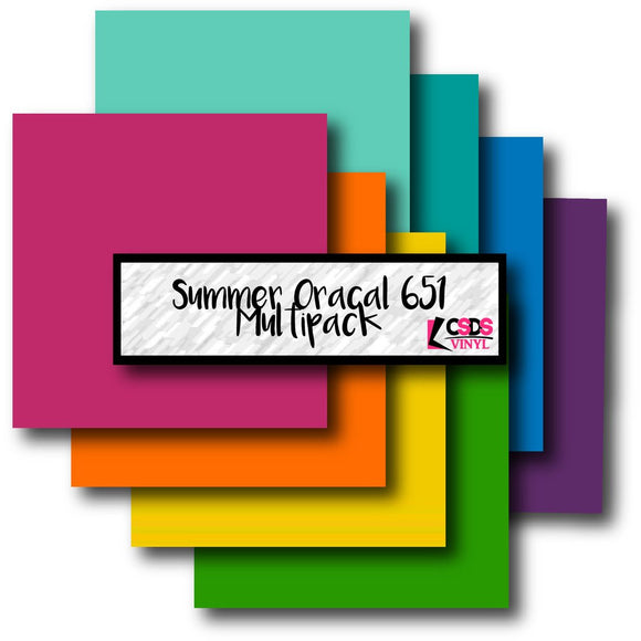 Oracal 651 Summer Multipack