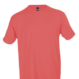 Tultex Unisex Jersey Tee-Coral