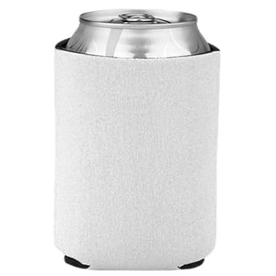 Blank Collapsible Beverage Coolers- White