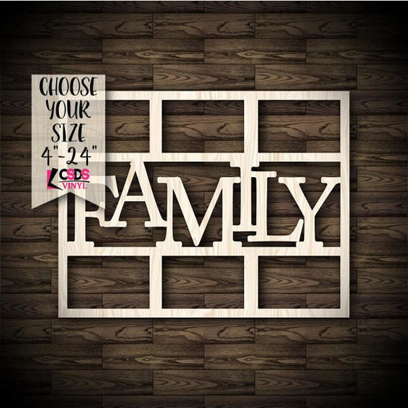 Family Picture Frame #2