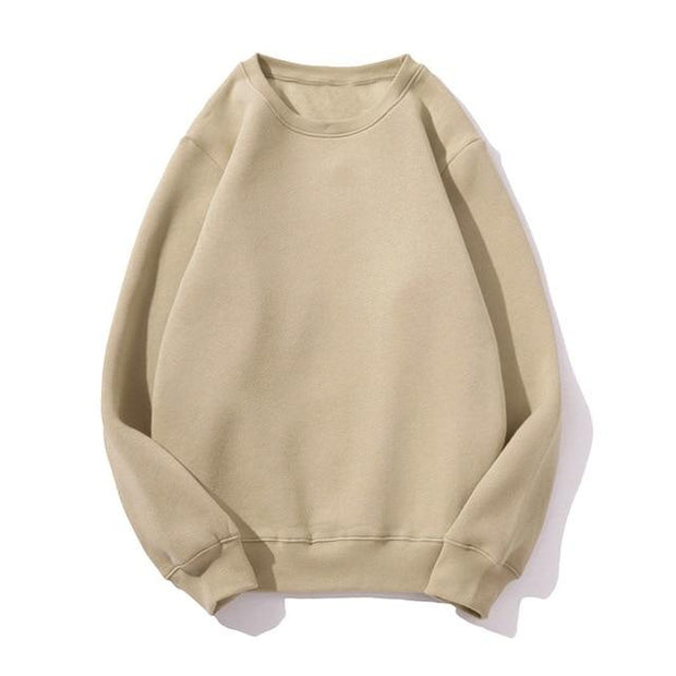 Basics Beige / S Pastel Crewneck Sweatshirt shop high quality cheap leggings