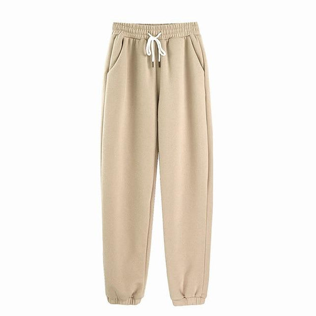 Basics Beige / S Pastel Sweatpants shop high quality cheap leggings