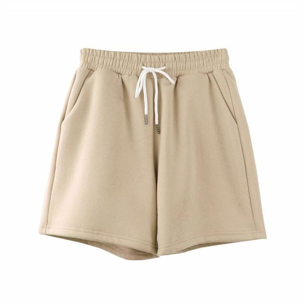Basics Beige / S Pastel Sweatshorts shop high quality cheap leggings