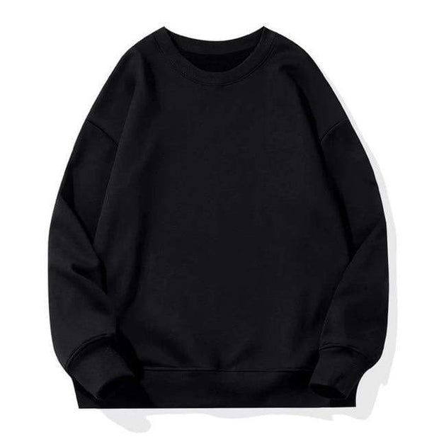 Basics Black / S Classic Crewneck Sweatshirt shop high quality cheap leggings