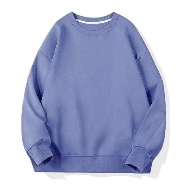 Basics Blue / S Classic Crewneck Sweatshirt shop high quality cheap leggings
