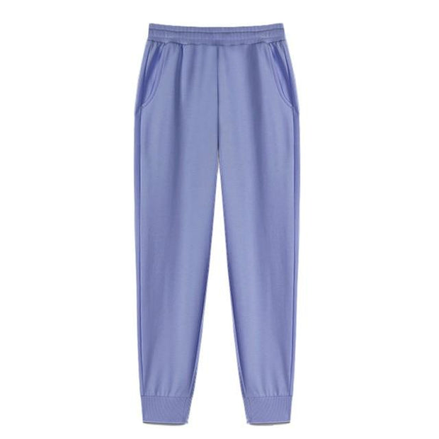 Basics Blue / S Classic Pleated Sweatpants shop high quality cheap leggings