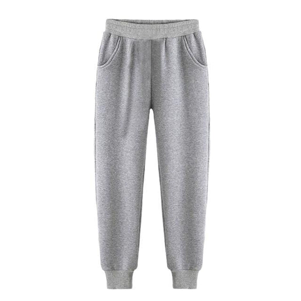 Basics Gray / S Classic Pleated Sweatpants shop high quality cheap leggings