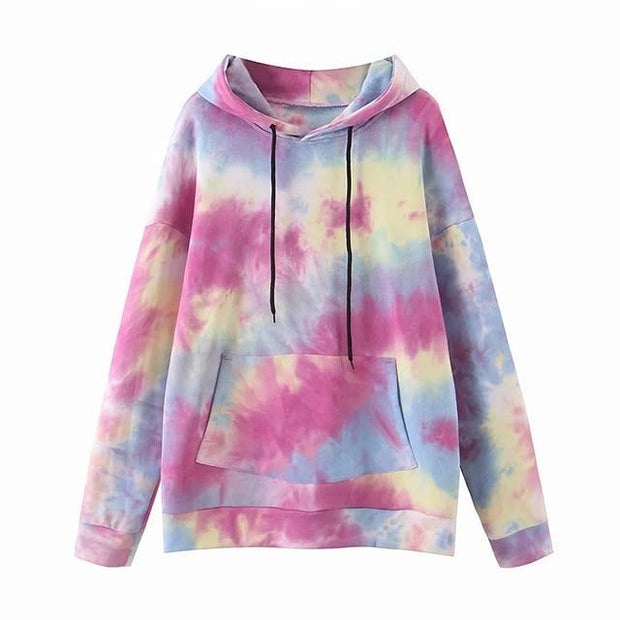 Basics Multi / S Tie Dye Hoodie shop high quality cheap leggings