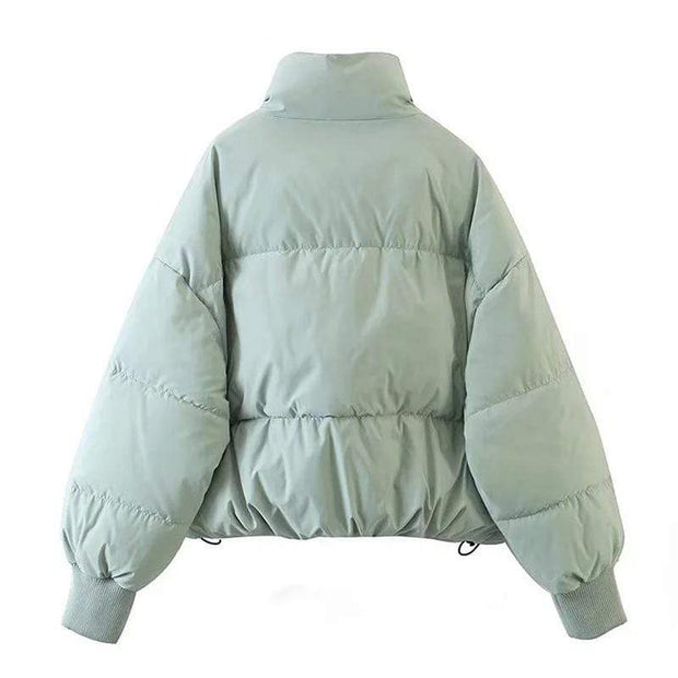 Basics Padded Puffer Coat shop high quality cheap leggings