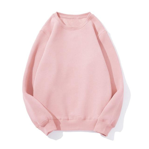 Basics Pink / S Pastel Crewneck Sweatshirt shop high quality cheap leggings