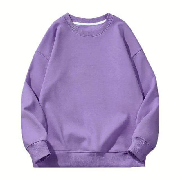 Basics Purple / S Classic Crewneck Sweatshirt shop high quality cheap leggings