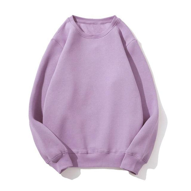 Basics Purple / S Pastel Crewneck Sweatshirt shop high quality cheap leggings