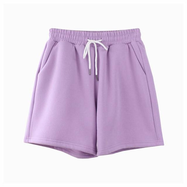 Basics Purple / S Pastel Sweatshorts shop high quality cheap leggings