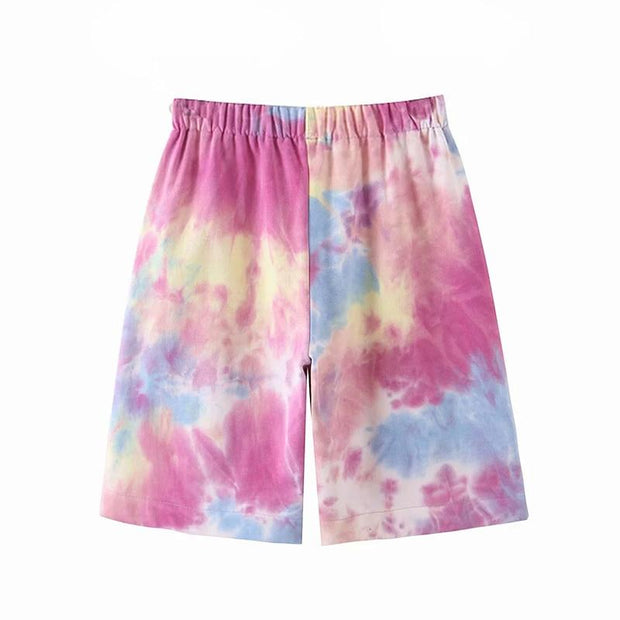 Basics Tie Dye Shorts shop high quality cheap leggings