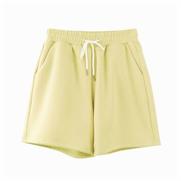 Basics Yellow / S Pastel Sweatshorts shop high quality cheap leggings