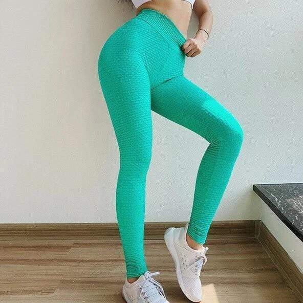 High Waist Anti-Cellulite Leggings - Moderne Women - FITNESS WEAR Best Deals Cheap High Quality Leggings Tops Fitness Gymwear Makeup Cosmetics At Home Workout Gear Paint By Numbers