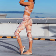 Pink Camo Set - Moderne Women - FITNESS WEAR Best Deals Cheap High Quality Leggings Tops Fitness Gymwear Makeup Cosmetics At Home Workout Gear Paint By Numbers