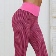 Push Up Honeycomb Leggings - Moderne Women - FITNESS WEAR Best Deals Cheap High Quality Leggings Tops Fitness Gymwear Makeup Cosmetics At Home Workout Gear Paint By Numbers