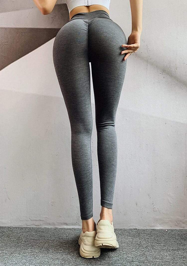 MEUGLEMENT.NO888 Store FITNESS WEAR Yoga Seamless Push Up Leggings
