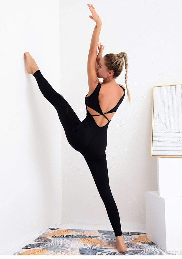 Jumpsuit S / Black Seamless Yoga Jumpsuit shop high quality cheap leggings