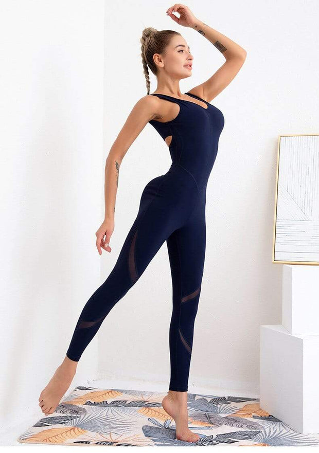 Jumpsuit S / Blue Seamless Yoga Jumpsuit shop high quality cheap leggings