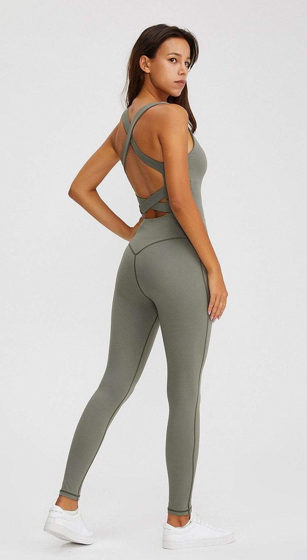 Jumpsuit S / Green Jasmine Yoga Jumpsuit shop high quality cheap leggings