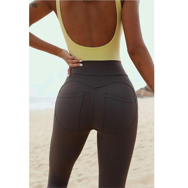 Jumpsuit Seamless Two Tone Jumpsuit shop high quality cheap leggings
