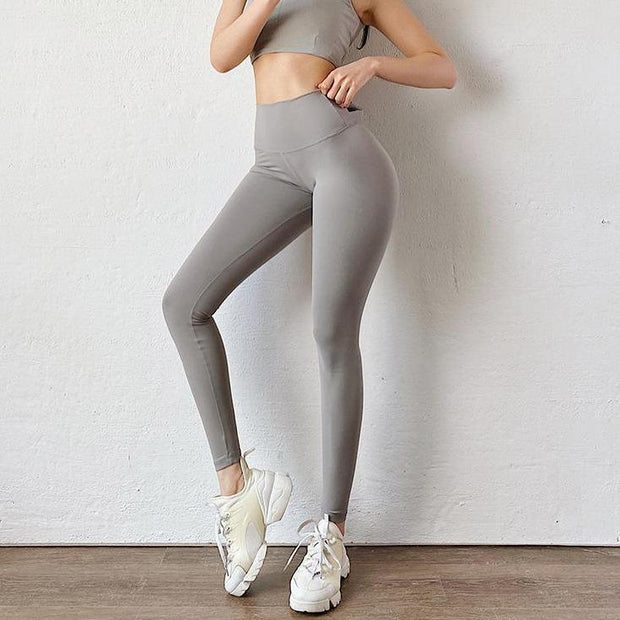 Leggings Moderne Scrunch Bow Leggings - Grey shop high quality cheap leggings