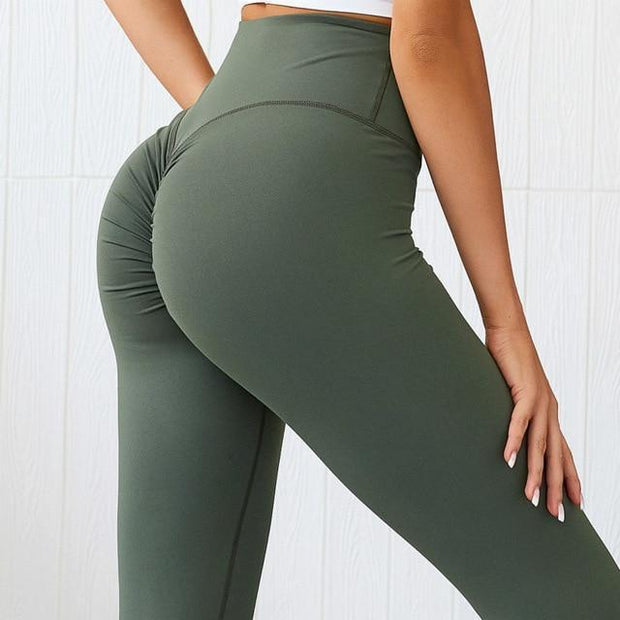 Leggings S / Army Green Moderne Scrunch Leggings shop high quality cheap leggings