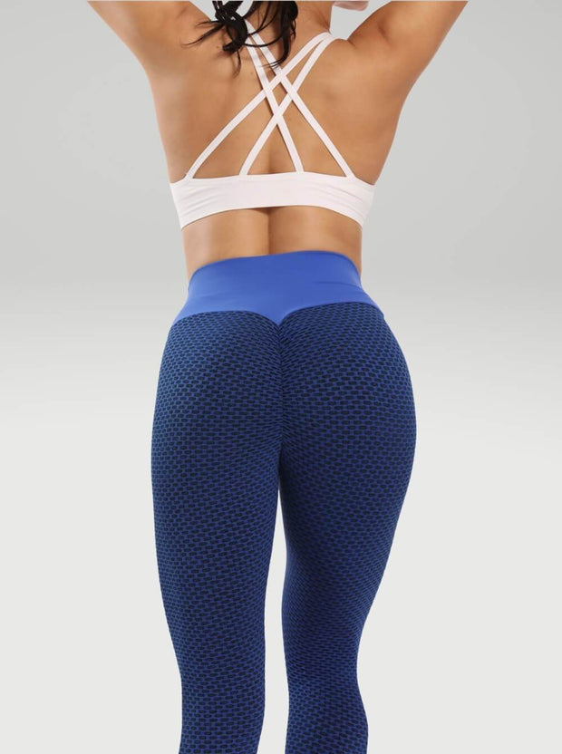 Leggings XS / Blue Moderne Textured Lift Leggings shop high quality cheap leggings