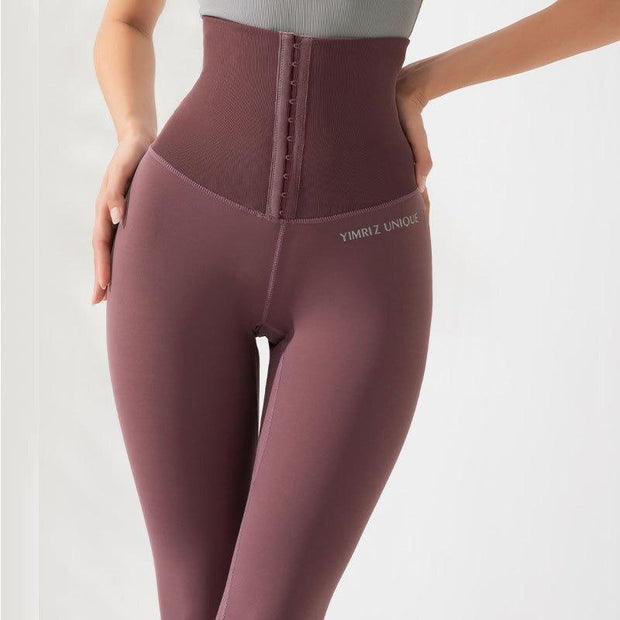 Leggings XS / Dark Pink High Waisted Compression Leggings shop high quality cheap leggings