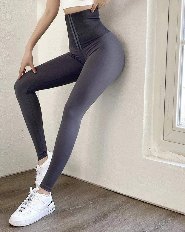 Leggings XS / Grey High Waisted Compression Leggings shop high quality cheap leggings