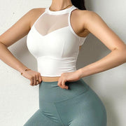 Tops Moderne Mesh Sports Crop shop high quality cheap leggings