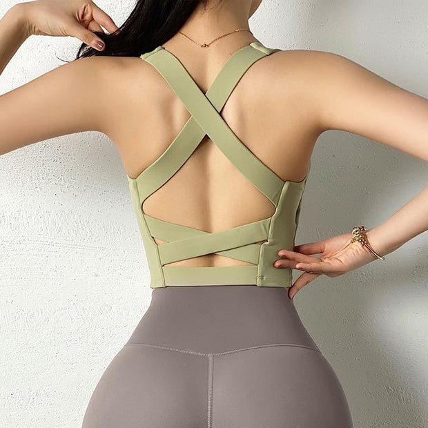 Tops S / Sage Green Moderne Sports Crop shop high quality cheap leggings