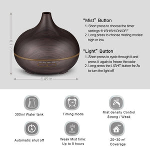 Ring Diffuser l Aroma Oil Diffuser l Essential Oil Diffuser