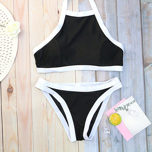 Woman Swimsuit Solid