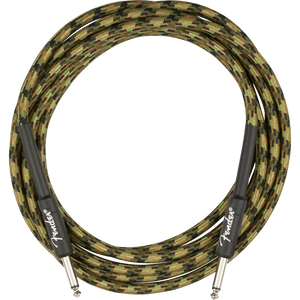 Fender Professional Series Cable, Camo 18.6ft