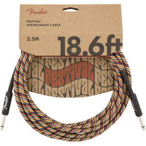 Fender Festival Cable Rainbow