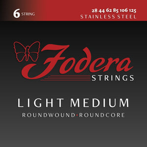 Fodera Stainless Steel 6 String Sets