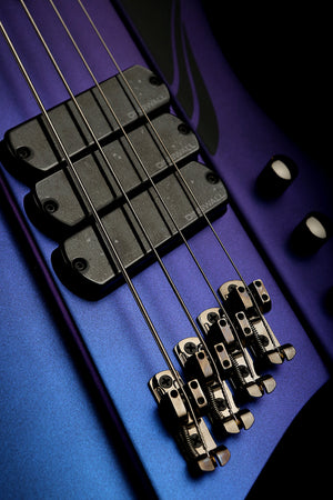 Dingwall D-Roc Standard 4 Blue Purple Colour Shift