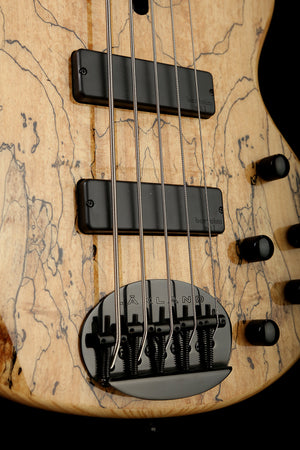 Lakland Skyline 55-01 Deluxe Spalted Maple.